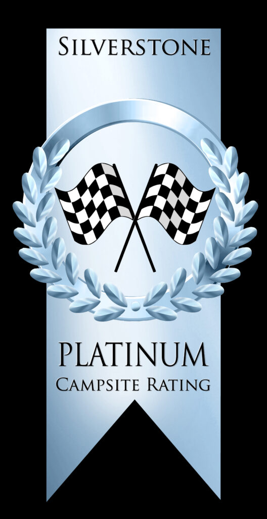 Platinum Campsite Rating Award